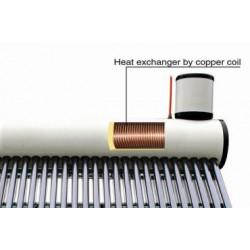 Термосифонна система под налягане с бойлер със серпентина